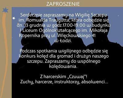Wigilia Szczepu - 13.12.2013 r.