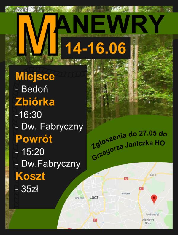 Ruszyły zgłoszenia na Manewry Szczepu!